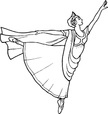 ballerina coloring pages printable coloring
