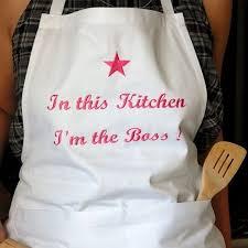 tablier de cuisine personnalisé photo tablier de cuisine personnalisé et original