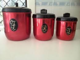 black kitchen canisters 47 best retro kitchen canisters images on kitchen