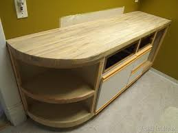How To Install Butcher Block Countertops by How To Build A Butcher Block Counter Reality Daydream