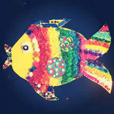 super easy and fun rainbow fish craft for kids all you need is