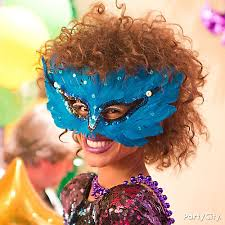 mardi gras feather mask idea mardi gras ideas