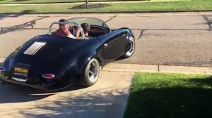 1957 porsche 356 speedster outlaw first ride after restoration