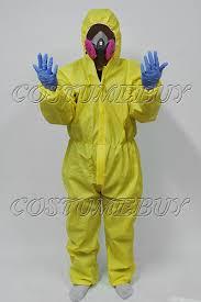 Hazmat Halloween Costume Breaking Bad Yellow Lab Suit