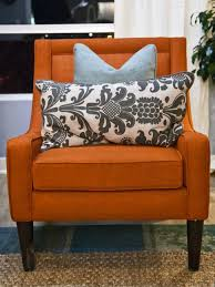 Microfiber Accent Chair Chair Indoor Chairs Comfortable Microfiber Accent Rust Colored