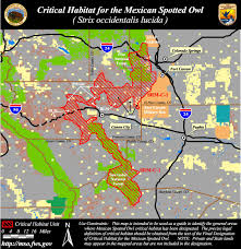 Blm Maps Colorado by Designated Critical Habitat For The Mexican Spotted Owl
