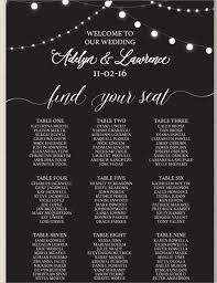 Free Wedding Seating Chart Template Excel Wedding Seating Chart Template 16 Exles In Pdf Word Psd