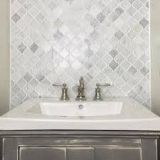 Amazing Ideas Carrara Marble Mosaic Tile Backsplash How To Install - Marble backsplash tiles
