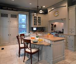 Eat In Kitchen Island High Bar Island Kitchen Traditional With Eat In Kitchen Frosted