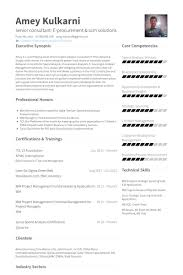 Procurement Resume Examples by Senior Consultant Resume Samples Visualcv Resume Samples Database