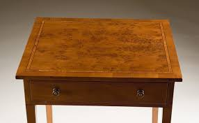 Yew Side Table Yew Wood Occasional Table