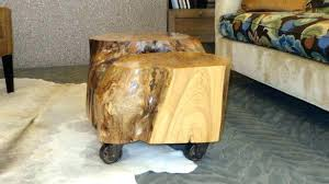 tree trunk end table tree trunk end table fascinating tree trunk table photo of stump