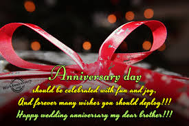 Happy Wedding Anniversary Wishes For Anniversary Wishes For Brother Pictures Images