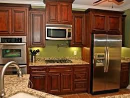 Kitchens Thomas Built Custom Cabinets - Rustic cherry kitchen cabinets
