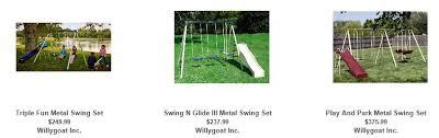 Flexible Flyer Backyard Swingin Fun Metal Swing Set Flexible Flyer Swing Set U2013 4 Easy Ways To Compare And Buy Online