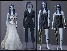 corpse wedding mod the sims tim burton s corpse