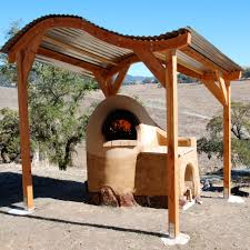 love the styling of the cob oven and the curved canopy this is
