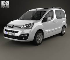 citroen berlingo citroen berlingo multispace 2015 3d model hum3d