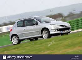peugeot silver car peugeot 206 rc model year 2005 silver small approx stock