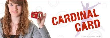 welcome cardinal card