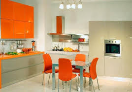 Orange Kitchen Colors  Modern Kitchen Design And Decorating Ideas - Orange kitchen cabinets