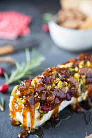 cuisine appetizer goat cheese with honey fig pistachios simple healthy kitchen