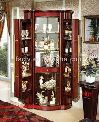 living room glass showcase design corner home bar cabinet designs
