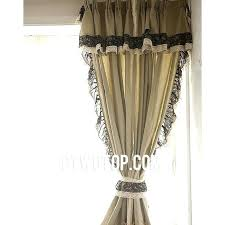 Smocked Burlap Curtains Burlap And Lace Curtains U2013 Teawing Co