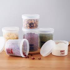 Kitchen Storage Canister Online Get Cheap Plastic Kitchen Canisters Aliexpress Com