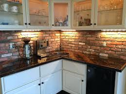brick backsplashes for kitchens best kitchen brick backsplashes for luxury look tile image of