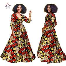 2018 african dresses for women Autumn threequarter sleeve Dashiki