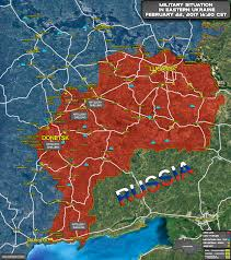 Ukraine On World Map by Situation In Eastern Ukraine On February 22 2017 Map Update