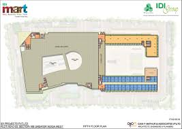 Cafeteria Floor Plan by Idi Group Idi Mart Floor Plan