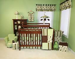 Nursery Decor Sets Stunning Baby Nursery Room Decor Ideas With Green Circlep Pattern