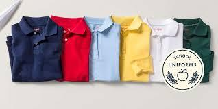 polo shirts school uniforms target