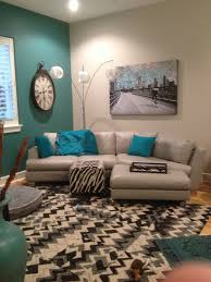 teal livingroom teal orange gallery wall by carolyncochrane com turquoise