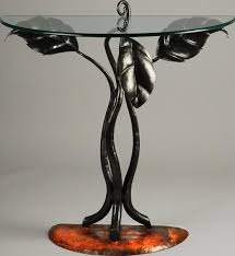 Furniture The Design Of Half Round Accent Table To Furnish Your