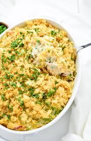 crunchy turkey casserole