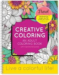 amazon com creative coloring an coloring book with