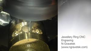 Jewelry Engraving Machine Jewellery Ring Engraving Using Cnc Youtube