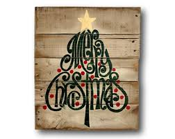 Victorian Christmas Trees And Decorations by Vintage Merry Christmas Sign Christmas Decorations Rustic