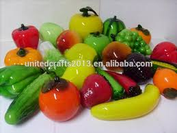 cheap high quality glass fruits and vegetables ornaments buy