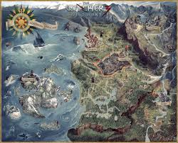 the art of the witcher 3 fantastic art artwork and fantasy map