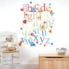 alphabet wall stickers jojo maman bebe