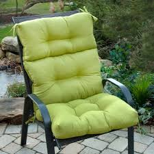 high back patio chair cushions