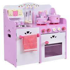 kids wooden kitchen toy strawberry pretend cooking playset toy 360buy
