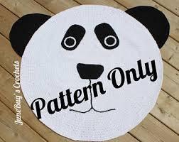 Bug Na Rug Crochet Bear Rug Etsy