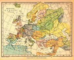 Columbian Exchange Map Europe 1200 1299 Ad Historical Maps Pinterest