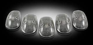 99 dodge ram led lights part 264145bk smoked smoke lenses with led cab light kit