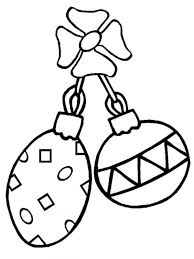 5 images printable christmas ornaments color free